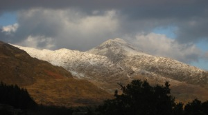 Kerry mountains in the winter